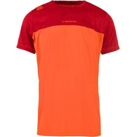 La Sportiva Crunch - T-shirt manches courtes Homme - orange/rouge